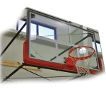 Wall Mount Basketball System