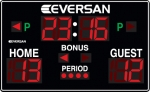 Optional Network Shot Clock Scoreboard
