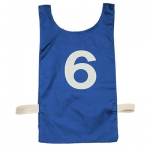 Numbered Nylon Pinnie Set