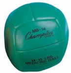 Leather Medicine Ball 7kg