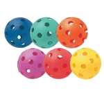 "Whiffle 9"" Coloured (set of 6)"