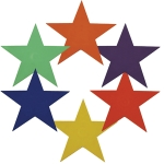 Spot Markers - Star (Set of 6)