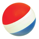 Tri-Coloured Ball 2.5""