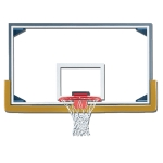 Rectangle Glass Backboard