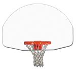 Fan Shaped Wood Backboard