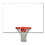Rectangle Wood Backboard (Plain)