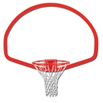Fan Shaped Steel Backboard (Plain)