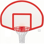 Fan Shaped Fiberglass Backboard (Target)