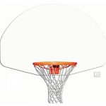 Fan Shaped Aluminum Backboard (Plain)