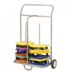 Scooter/Cone Storage Cart