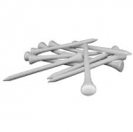 Wooden Golf Tees - Pkg. of 50