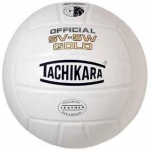 Tachikara SV5W Gold Volleyball - White