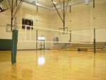 7200 Collegiate Volleyball Two Court Sytem